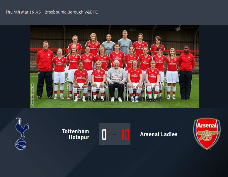 North London Derby – The girls did it before and now it's time for the boys.